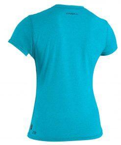 O'Neill Wms Hybrid S/S Sun Shirt Turquoise