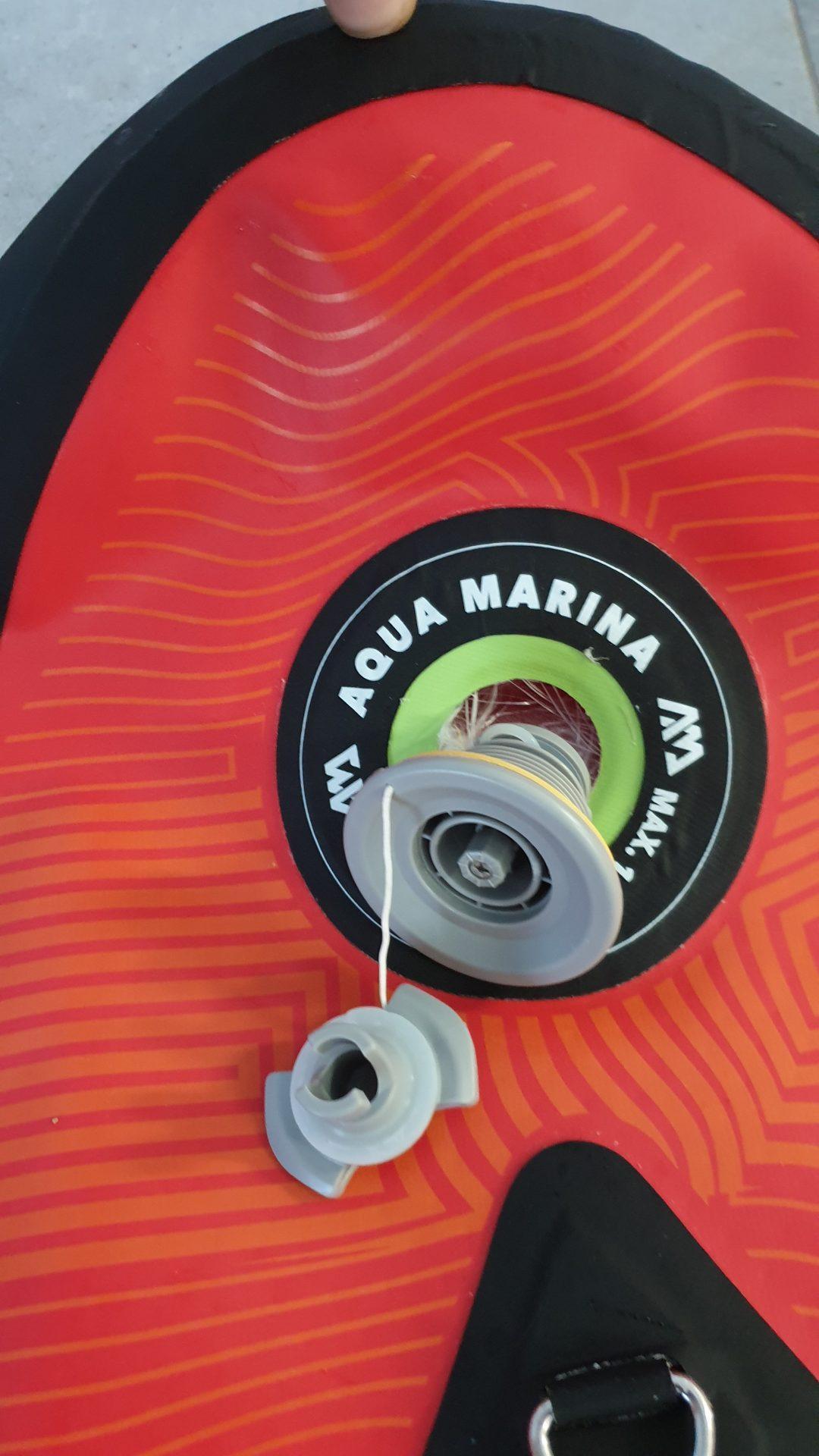 Zamenjava ventila AquaMarina