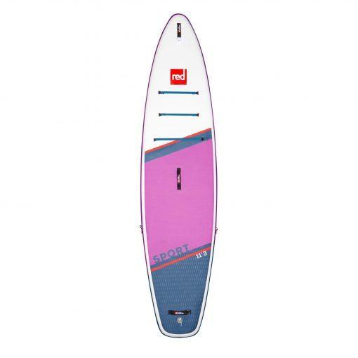 Red Paddle Co Sport 11'3 iz sprednje strani