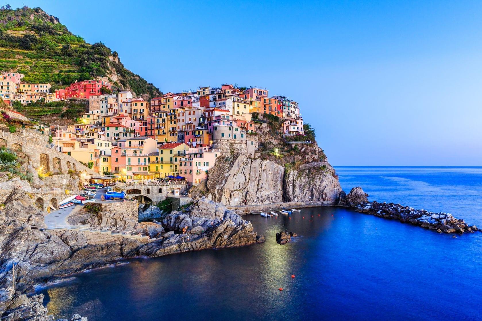 Pisane hiške Cinque Terre