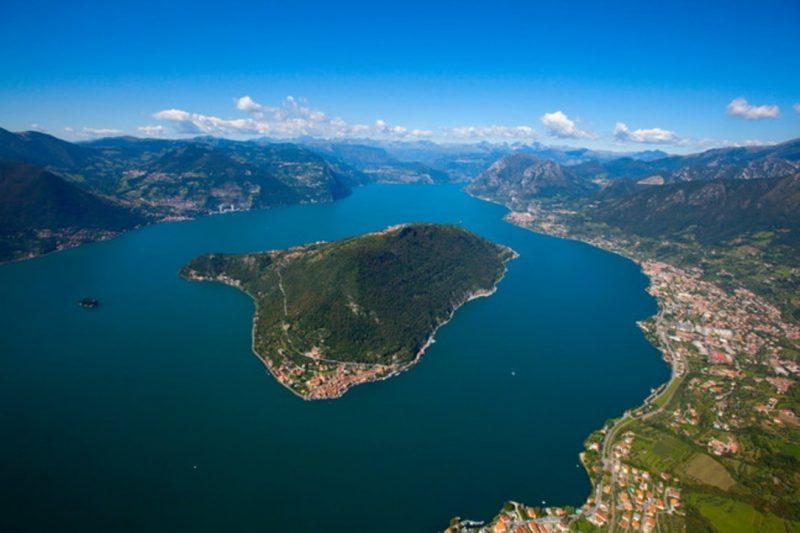 Jezero Iseo (Lago d'Ieso) – supanje za romantike