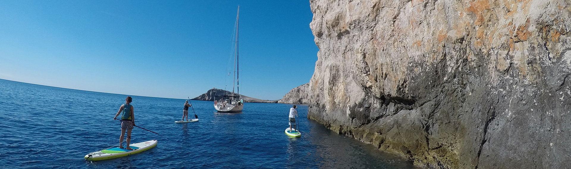 Sup ekspedicija med otoki Srednjega Jadrana