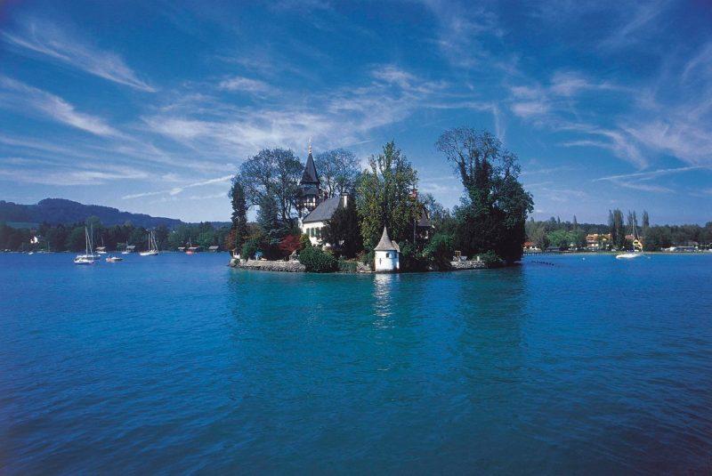 Jezero Attersee – supanje z vonjem po vrtnicah