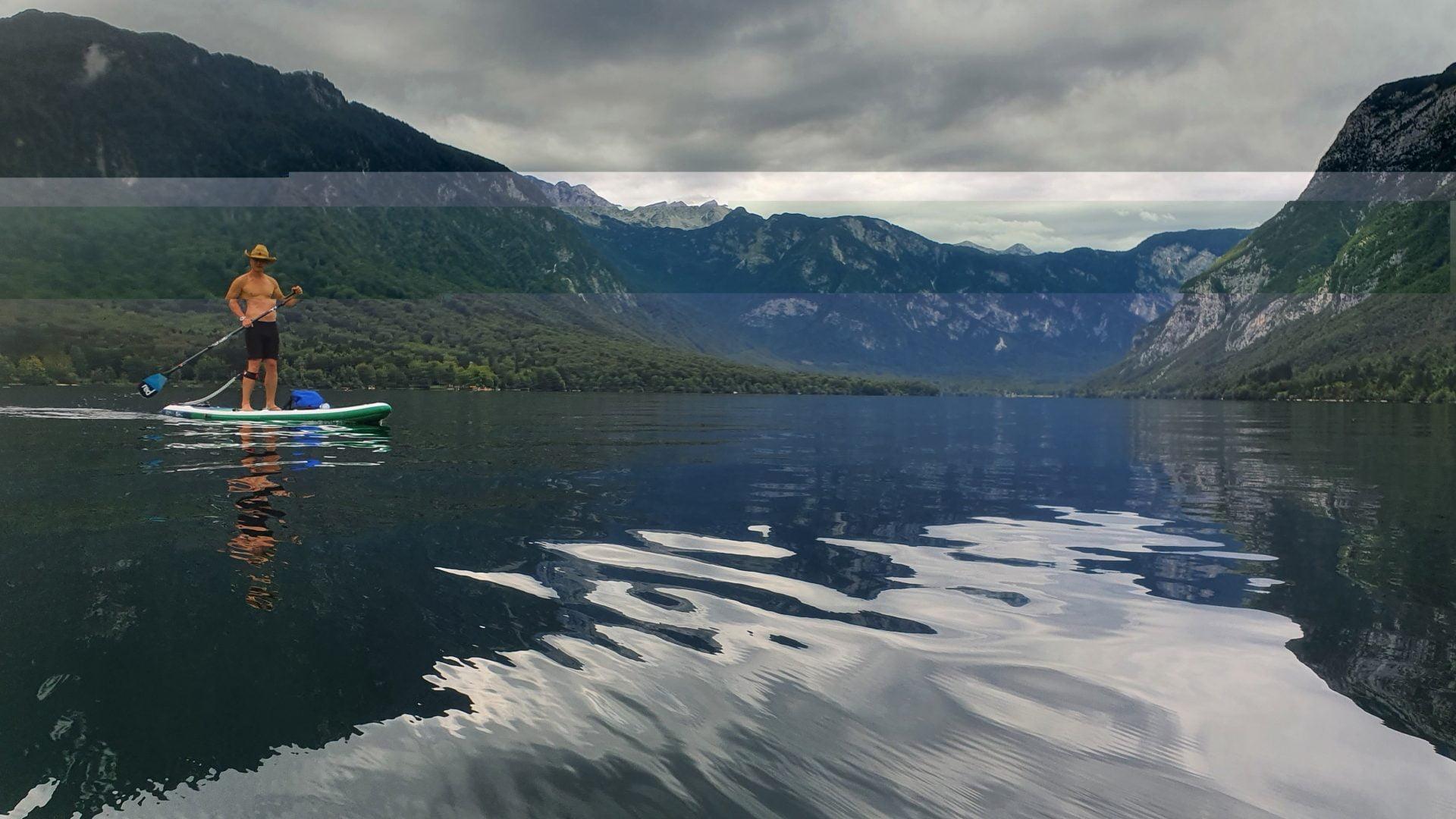 2 Supanje na Bohinjskem jezeru