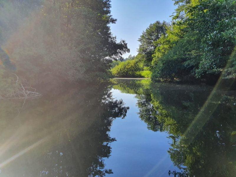 Potok Nanoščica – vstopna točka Cenetov mlin
