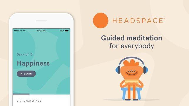 Headspace aplikacija za meditacijo