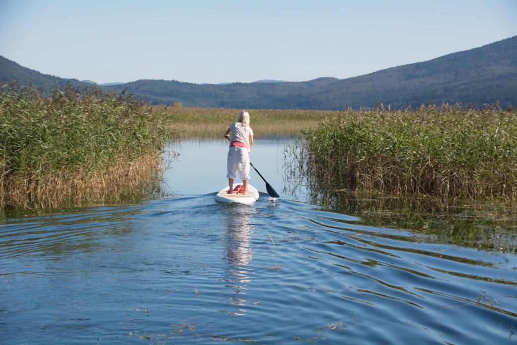 Sup izlet na Cerkniškem jezeru